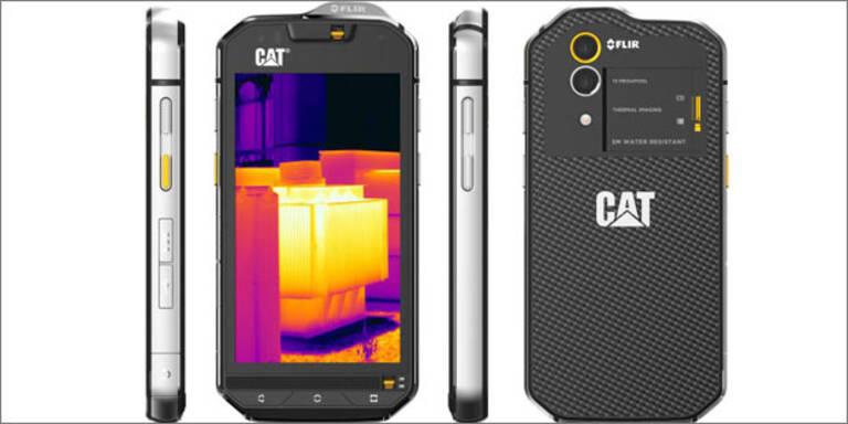 A1 bringt Handy mit Wärmebildkamera