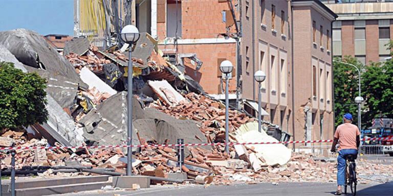 Neues Beben erschüttert Norditalien
