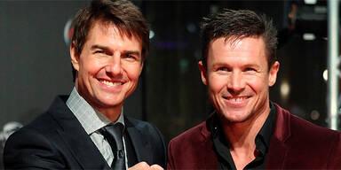 Tom Cruise und Felix Baumgartner