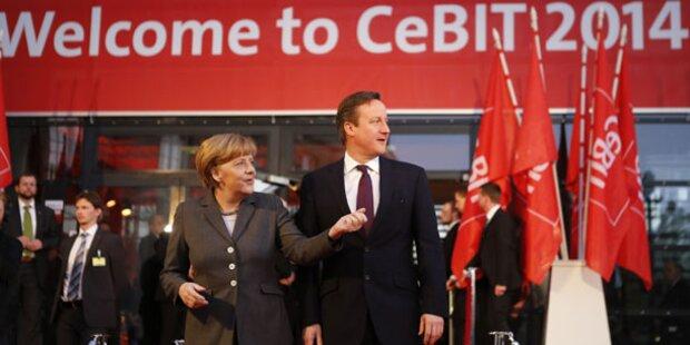 CeBIT 2014 mit positiver Zwischenbilanz