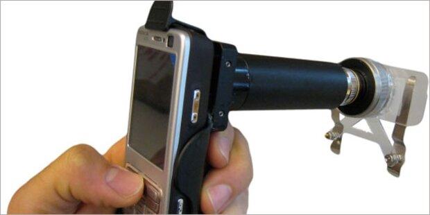 Handy-Mikroskop unter Finalisten