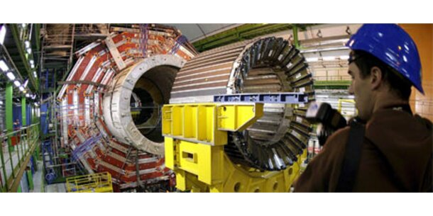 Weltgrößte Forschungsmaschine ist angelaufen