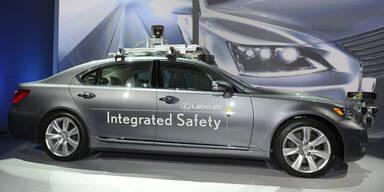 Toyota zeigt selbstfahrendes Auto