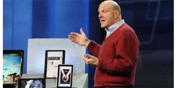 Microsofts iPad-Gegner vor Weihnachten
