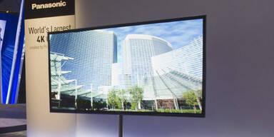 OLED-TVs: Panasonic, Sony & Sharp kontern