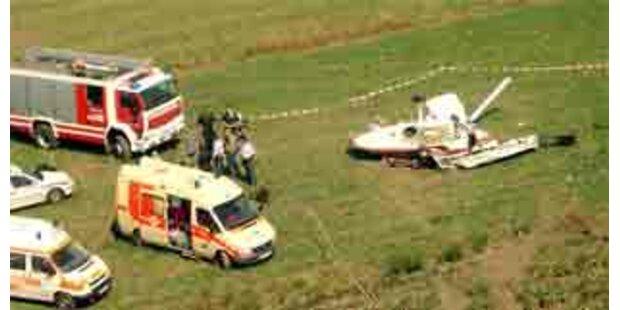Cessna in Niederösterreich abgestürzt
