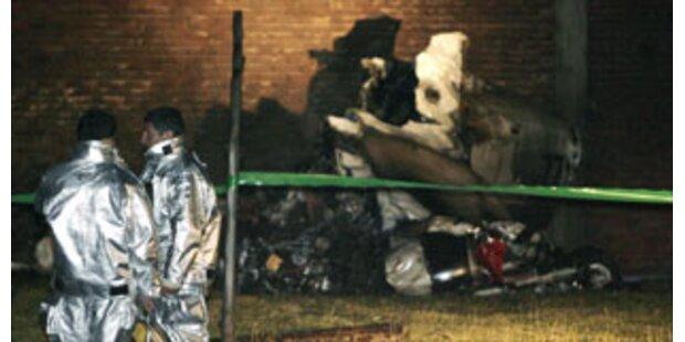 Sieben Tote bei Flugzeug-Crash in Kolumbien