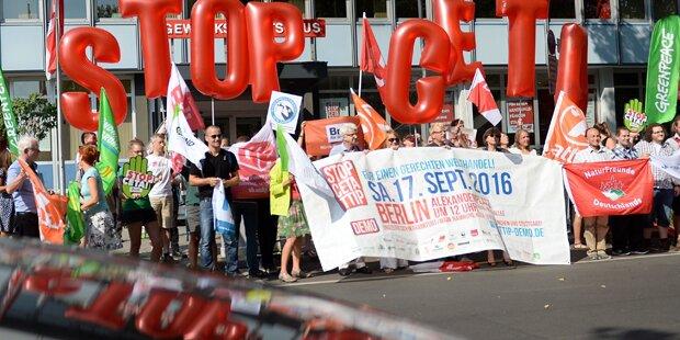 Groß-Demos legten Wiener City lahm