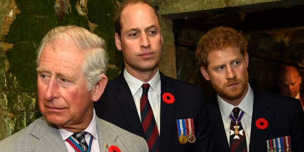 Prinz Charles reicht es: Er ist sauer auf seine Söhne