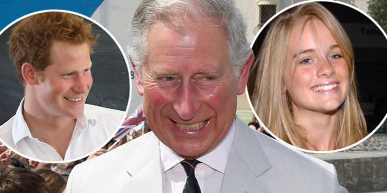 Prinz Charles steht auf Harrys Freundin