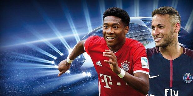Hammer: Bayern kracht auf Neymar & PSG