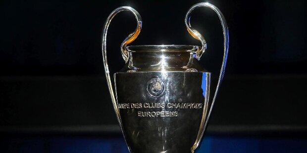 Das sind die Duelle im Champions-League-Viertelfinale
