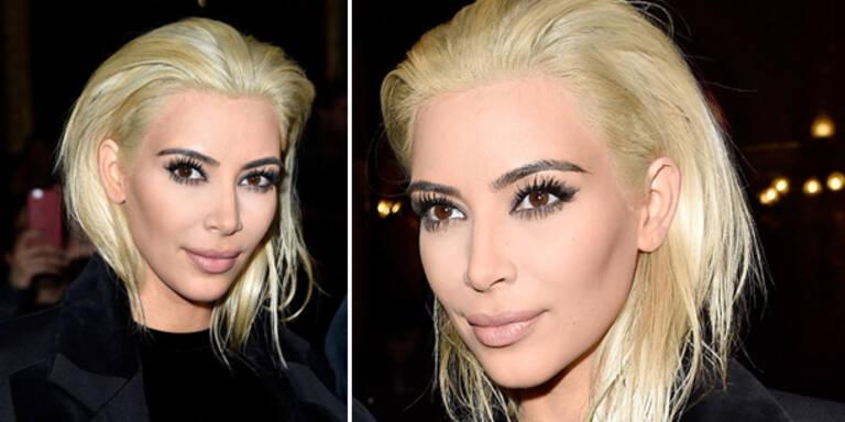 Kim Kardashian ist wieder erblondet