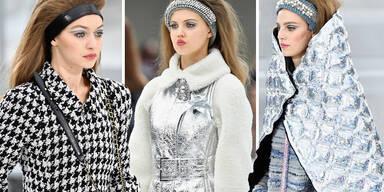 Lagerfeld schickt seine Models ins Weltall