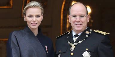 Fürstin Charlène, Prinz Albert von Monaco