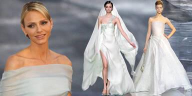 Charlene heiratet in Chanel & Armani