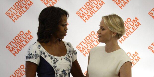 Obama & Charlène: Treffen der Stil-Ikonen