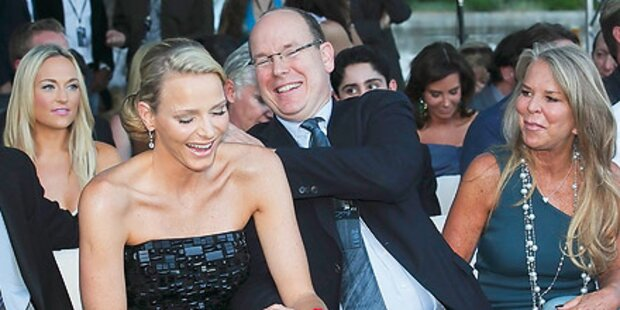 Charlene und Albert: Partyspaß in Monaco