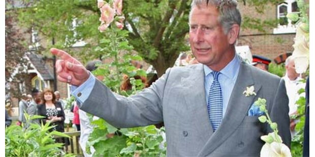 Prinz Charles besucht Afghanistan-Trupp