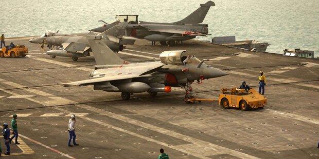Frankreich setzt Flugzeugträger gegen ISIS ein