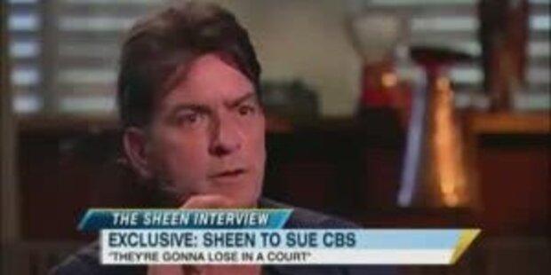 Charlie Sheen jetzt vollkommen verrückt