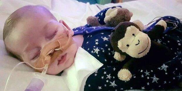 Baby Charlie: Eltern bleiben bis zum letzten Atemzug bei ihm