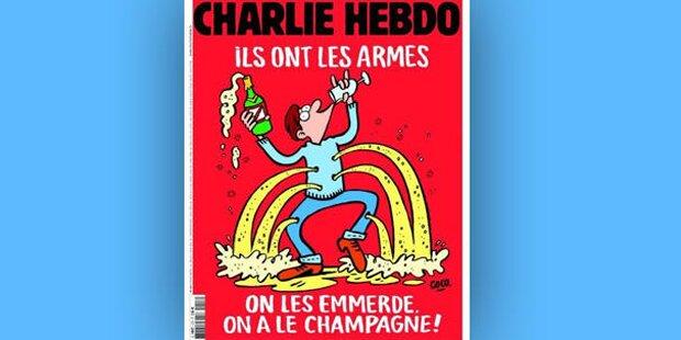 Charlie Hebdos Antwort auf Terror