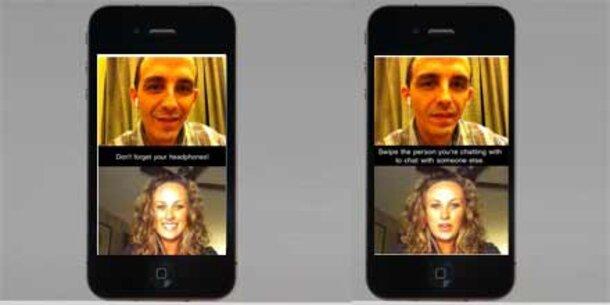 iChatr - Chatroulette am iPhone 4