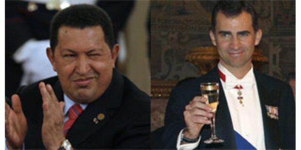 Chavez trifft des Königs Sohn
