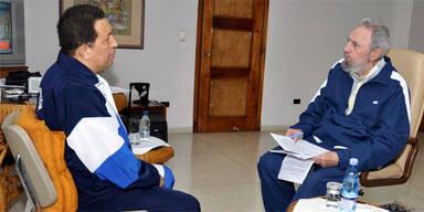 Chavez wieder zu Krebs-Kur auf Kuba