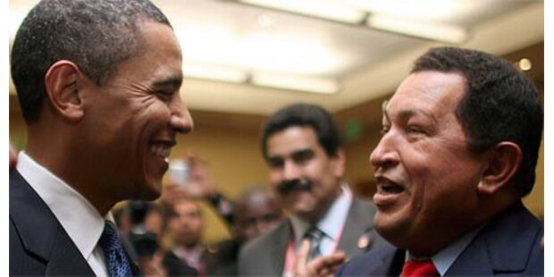 Chavez findet Obama