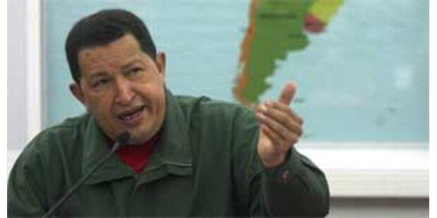 Chavez vergleicht Merkel mit Hitler