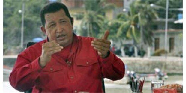 Chavez attackiert erneut Angela Merkel