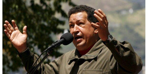Chavez droht Kolumbien mit Krieg