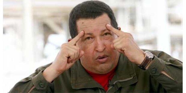 Chavez wirft USA Mordplan vor