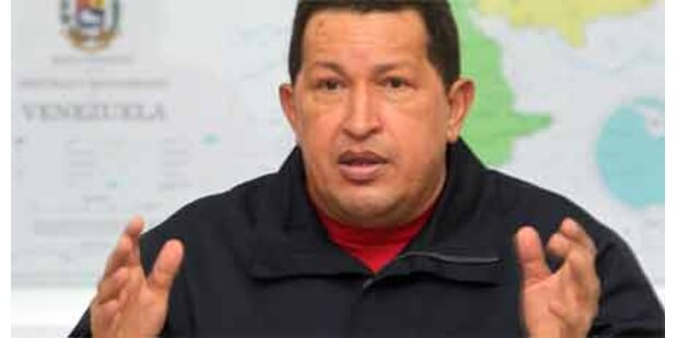 Chavez redet nicht mehr mit Kolumbien