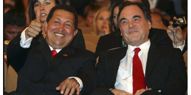 Hugo Chavez zu Besuch am Lido