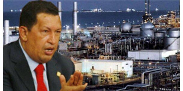 Chavez will Europa den Ölhahn zudrehen