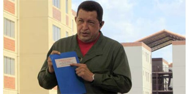 Chavez droht mit Krieg gegen Kolumbien