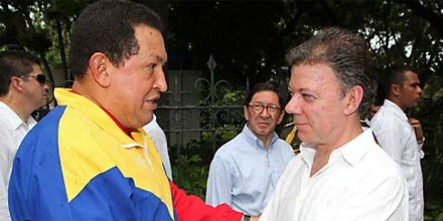 Kolumbien und Venezuela legen Streit bei