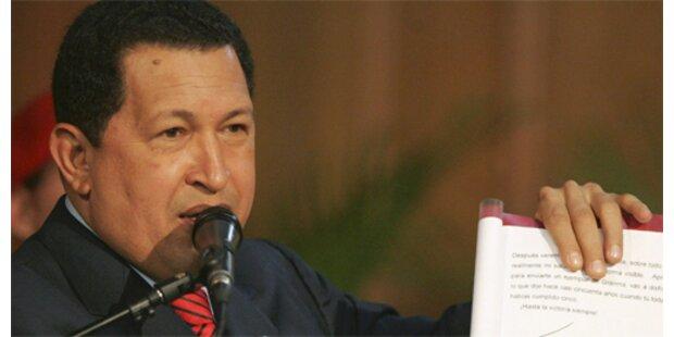 Parlament stattet Chavez mit Sonderrechten aus