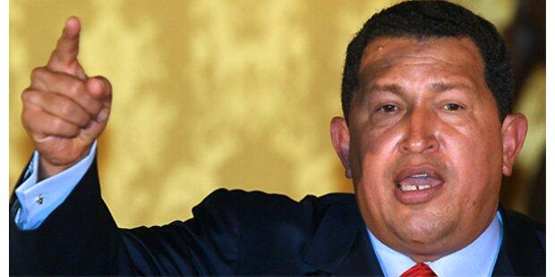 Sondervollmachten für Chávez