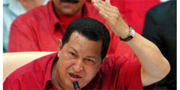 Chavez bezeichnet Bush als Terroristen
