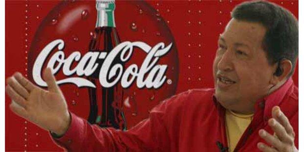 Chavez will Coca-Cola vertreiben