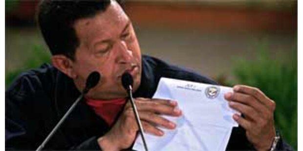 Chavez beordert Truppen an die Grenze zu Kolumbien