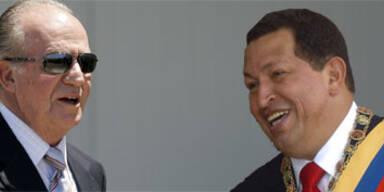 Chavez will Spaniens König umarmen