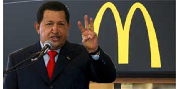 Venezuela schließt alle McDonald's für 48 Stunden