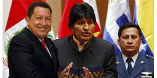 Bolivien, Venezuela legen sich mit den USA an