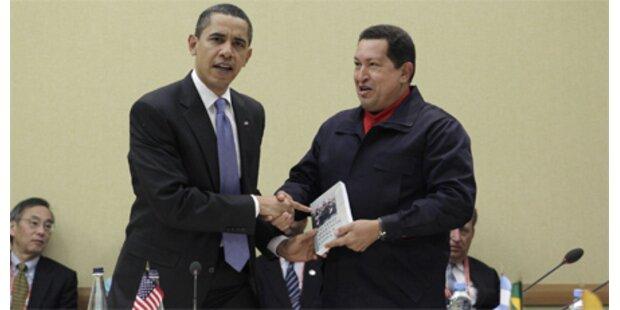 Chavez-Geschenk an Obama ist Verkaufshit