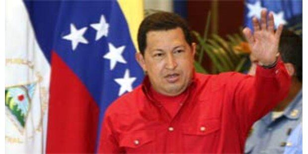 Chavez fürchtet seine Ermordung durch die USA